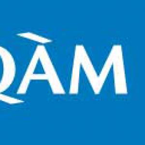 Image du logo de l'UQAM au format JPG, mauvaise qualité (zoom 500%)